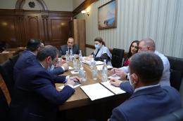 ՀՀ գլխավոր դատախազությունում քննարկվել են Արաքս գետի ավազանում բնապահպանական իրավունքների ապահովման և իրանական կողմի հետ գործակցության խնդիրները